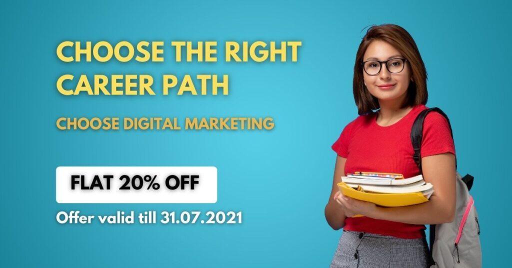 digital marketing course offer